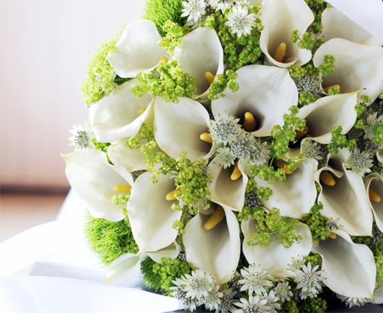 Wir sind Profi in puncto Blumenschmuck für Hochzeiten.